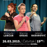 "STAND UP COMEDY SHOW: ""Femme Frontal"""