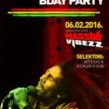 Massive Vibezz predstavlja: Bob Marley rođendanski party