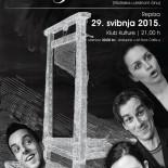 U petak repriza predstave 'Pod guillotinom' Teatra KVARK