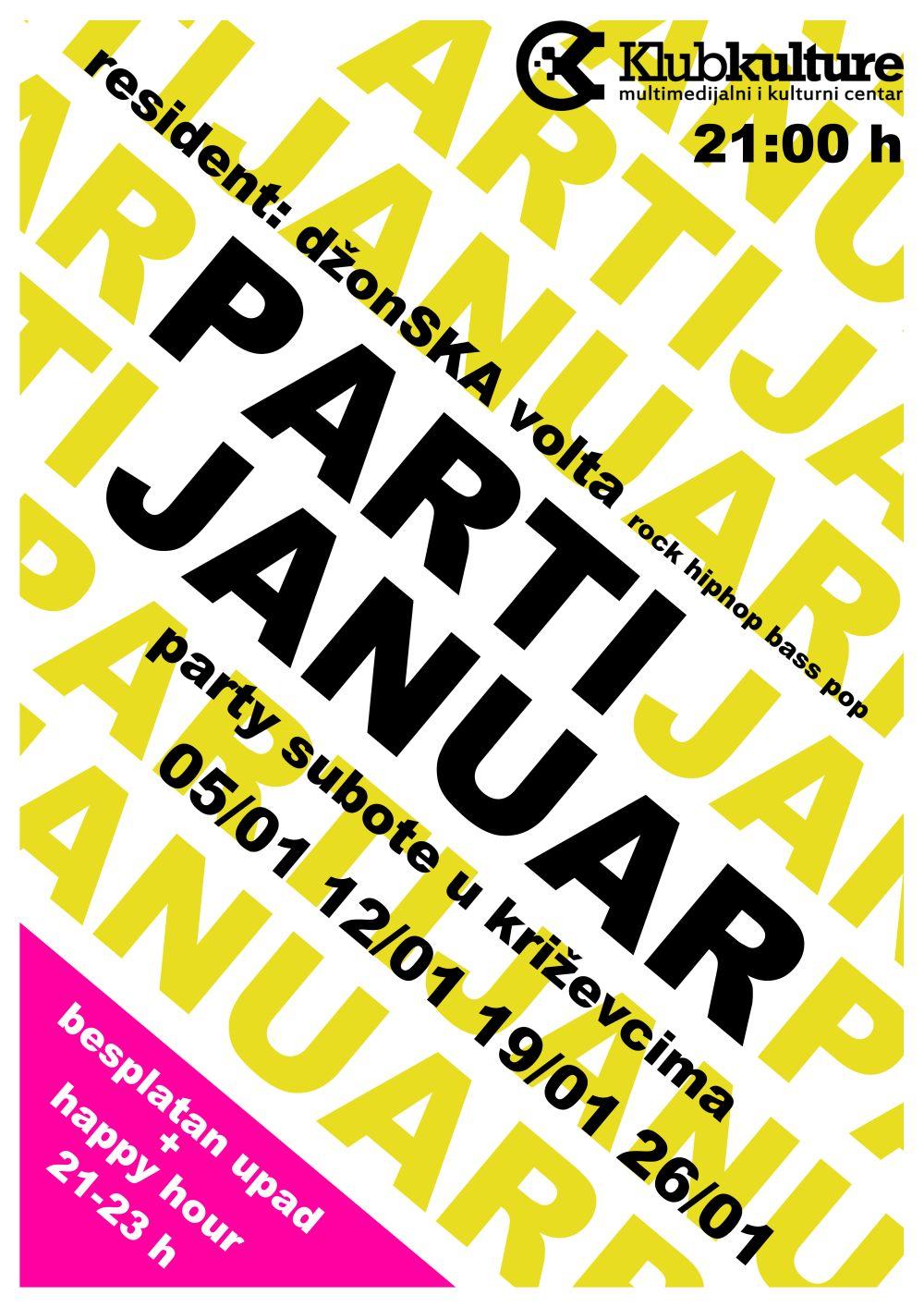Klub kulture - Partijanuar 2013 NET