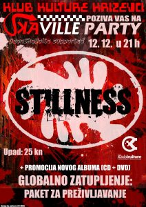 Klub kulture - Skaville Party w Stillness - PRINT