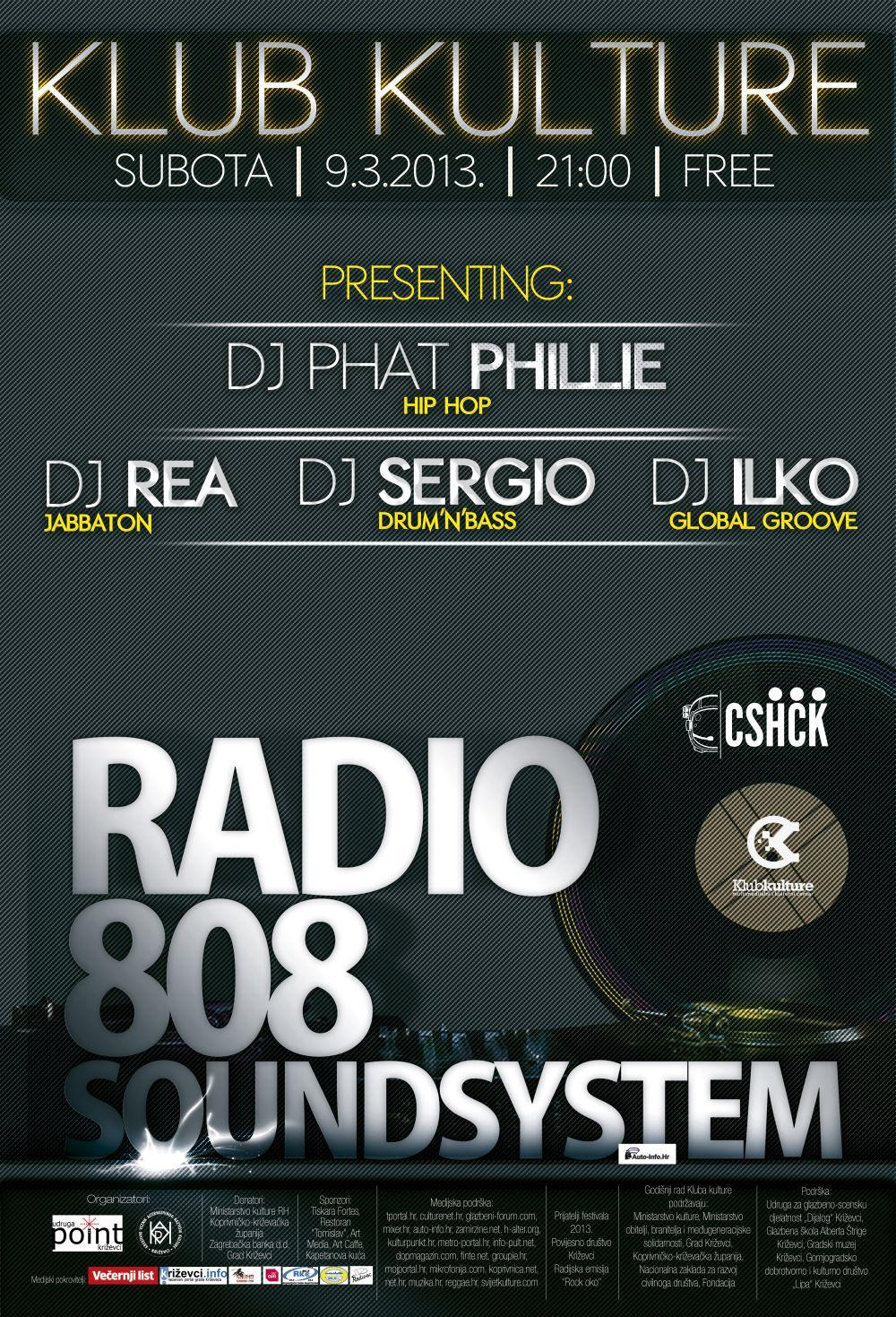Radio 808 plakat za net